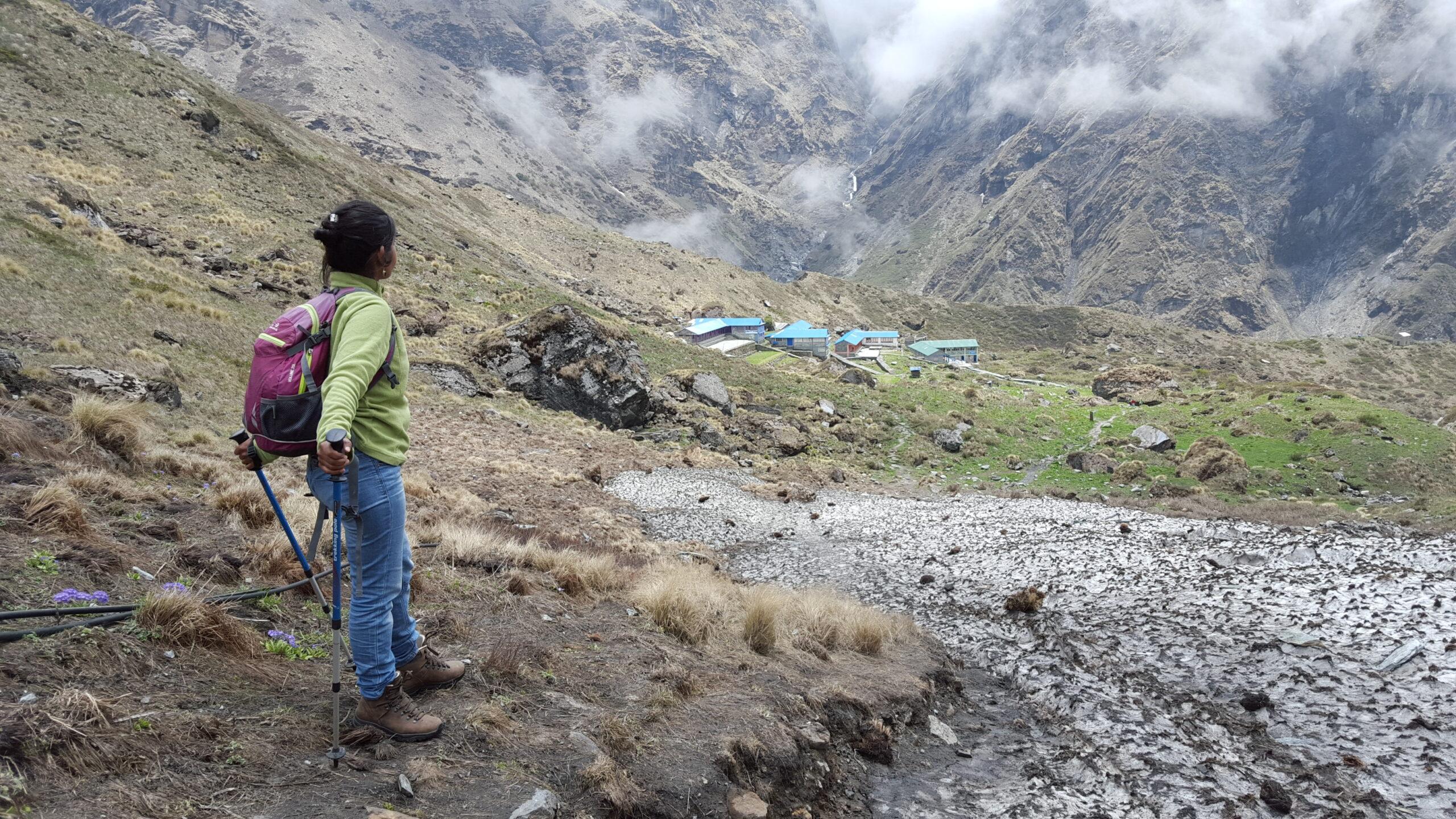 trekking in de himalaya