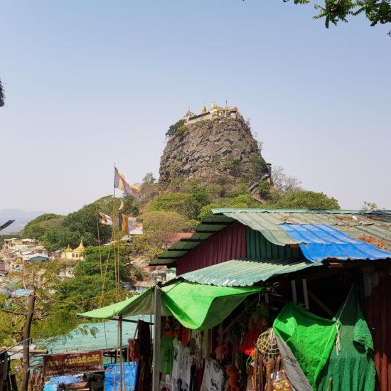 rondreizen in myanmar