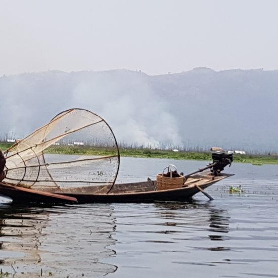 inle meer Birma