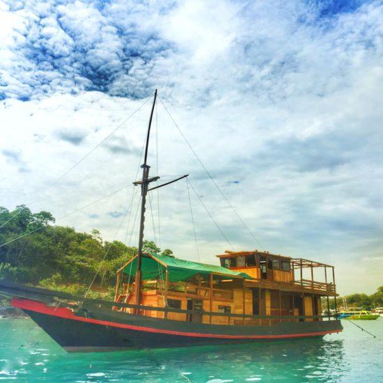 boot reis indonesië