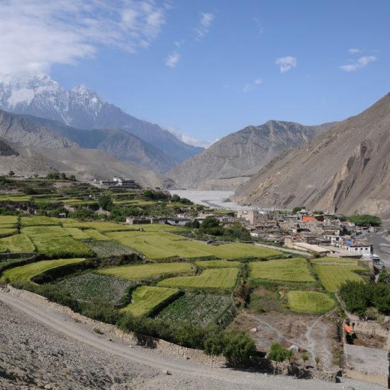 Mustang Nepal trekking