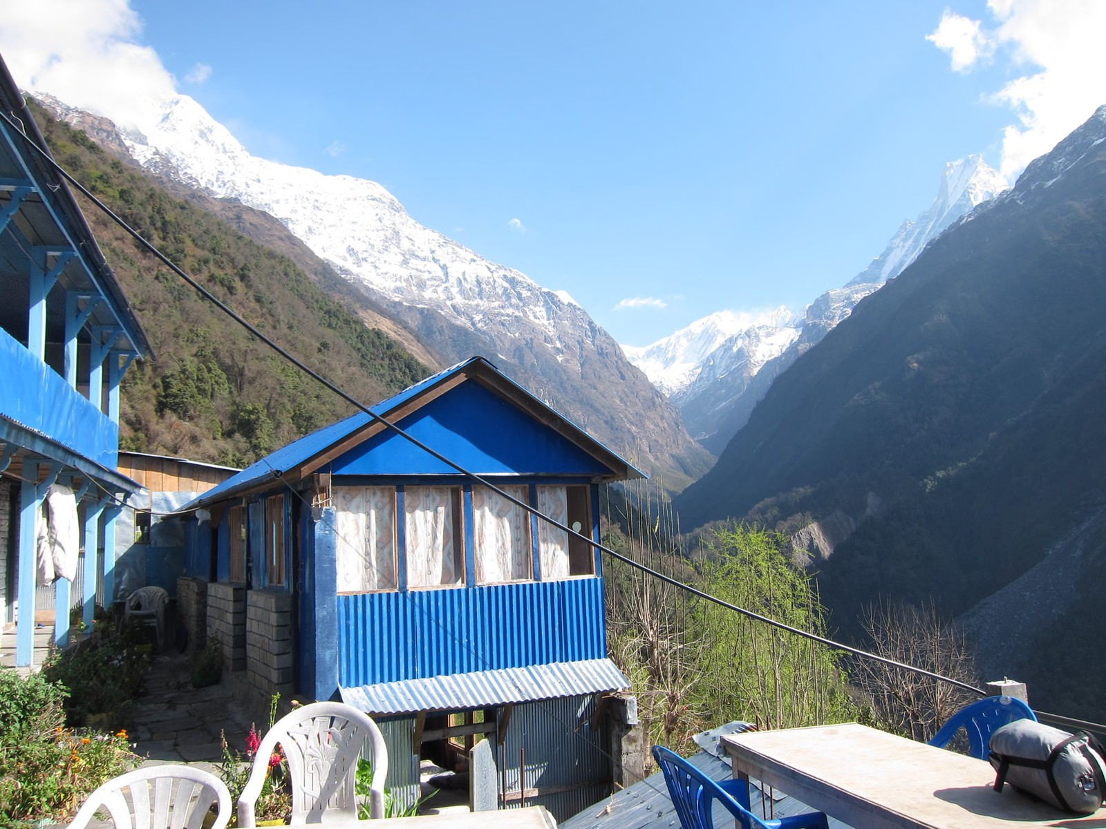 teahouse trekking nepal