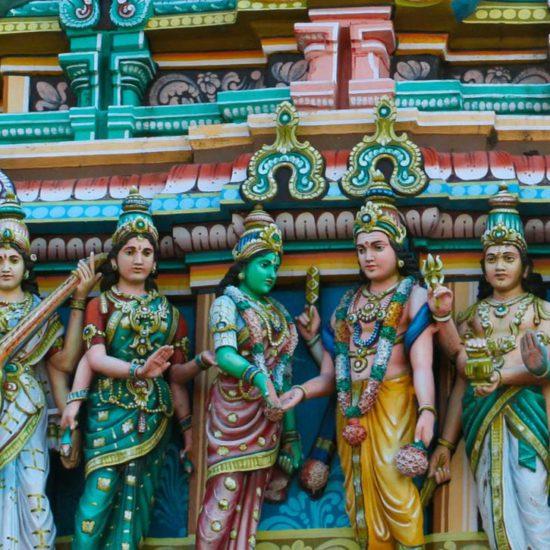 zuid indische tempel