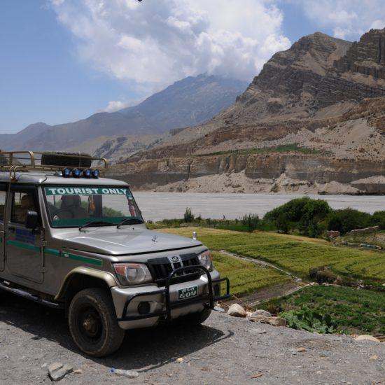 nepal jeep reis