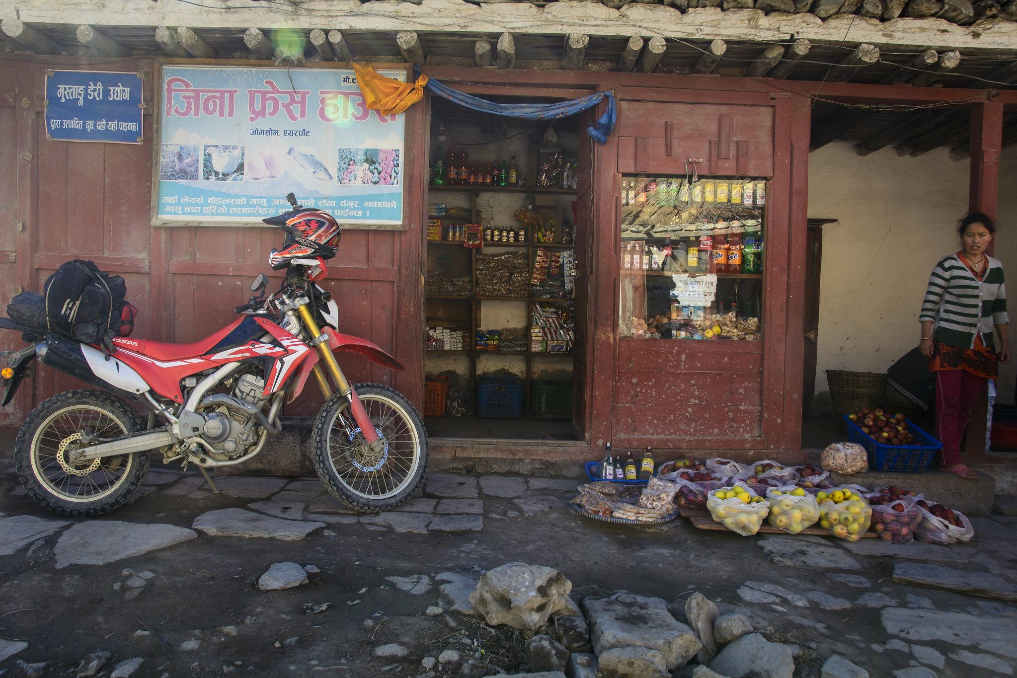motorreis Himalaya