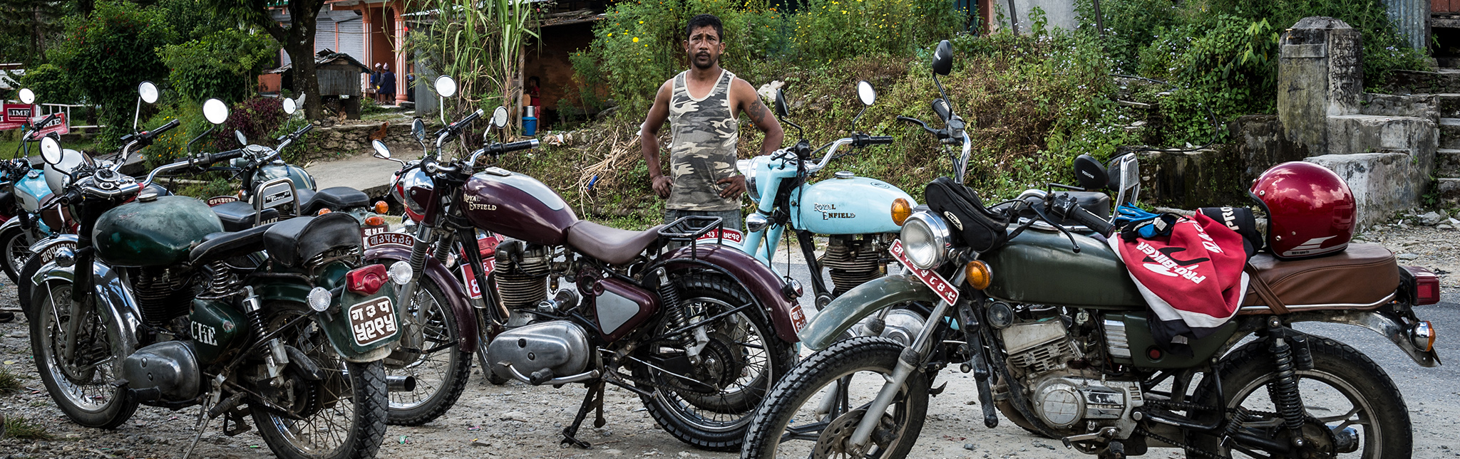 Nepal Motorreizen