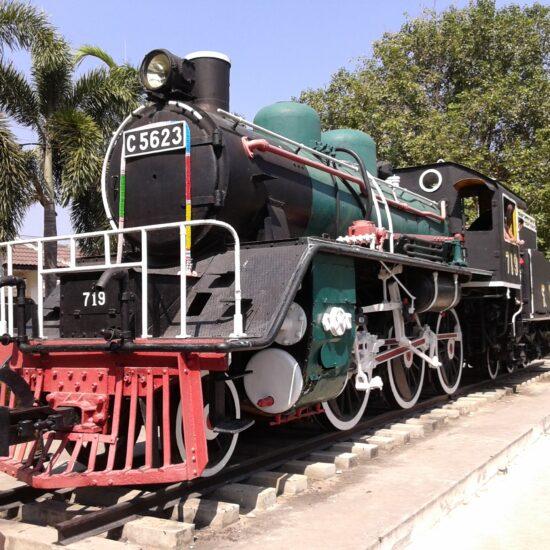 trein Thailand reis