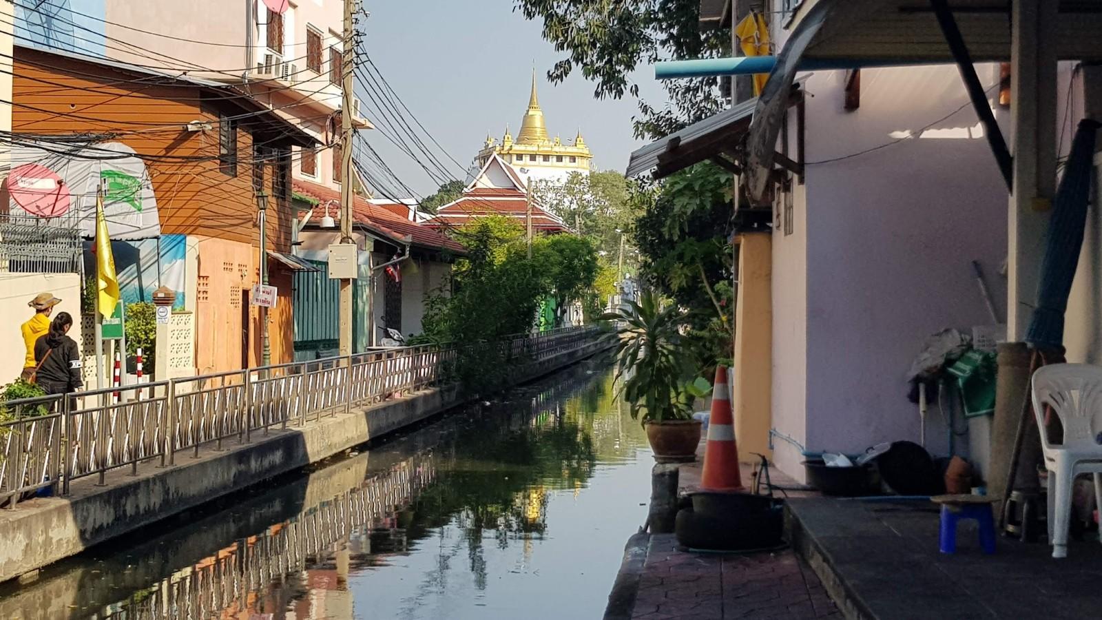 Wat Saket Reis Thailand