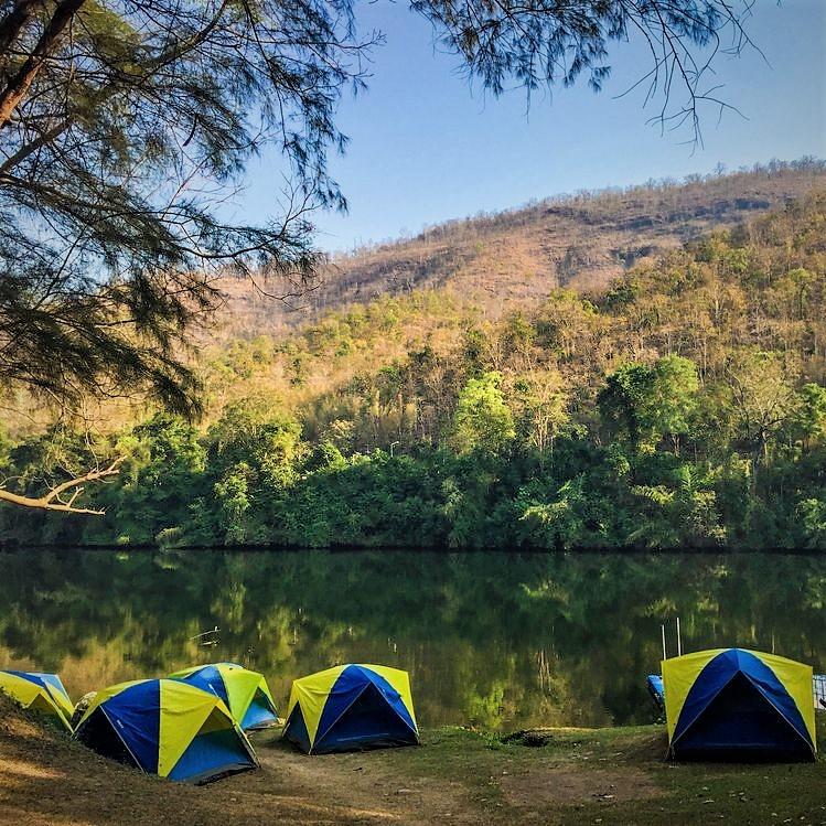 kamperen Erawan Thailand