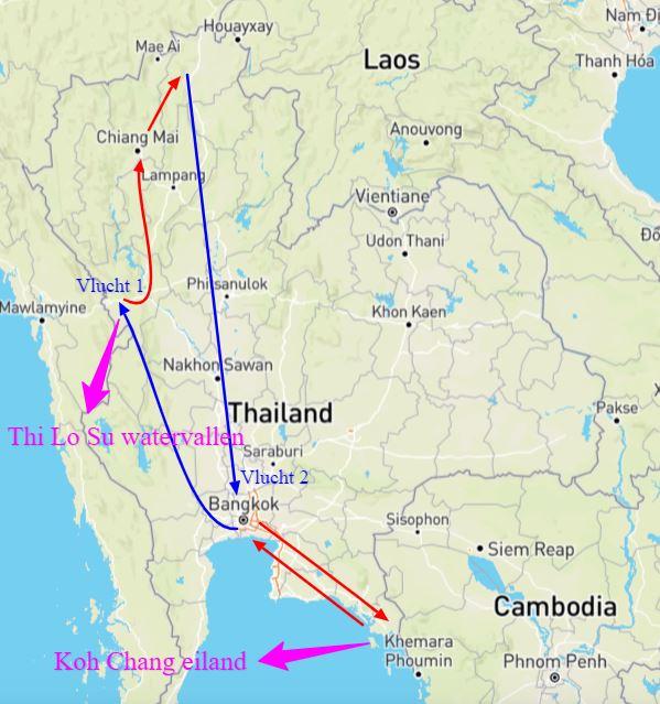 individuele reis Thailand