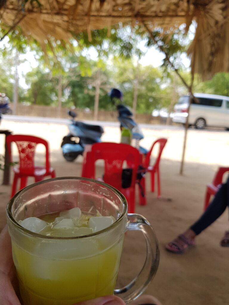 Bagan met scooter