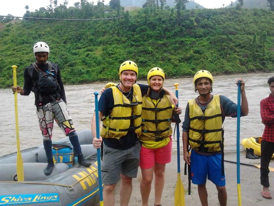 rafting Nepal reis